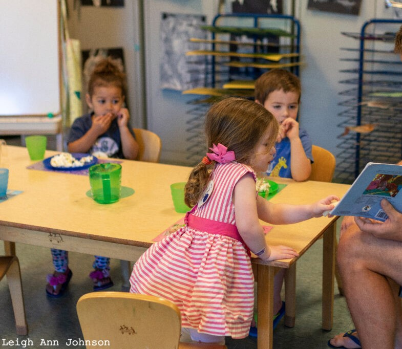 Alki Co-op Preschool Snack Time