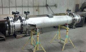 Custom Pressure Vessels stainless steel welding fabrication