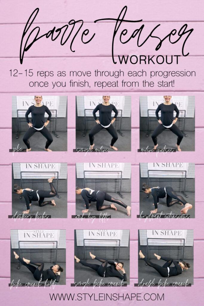 barre teaser workout