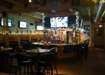 Bulldog Saloon main bar