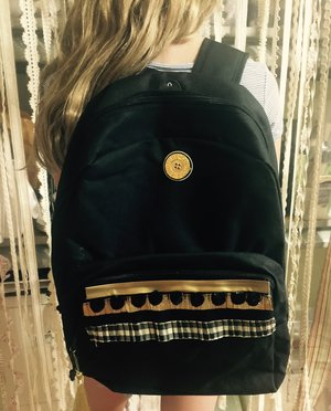 diy personalized backpack