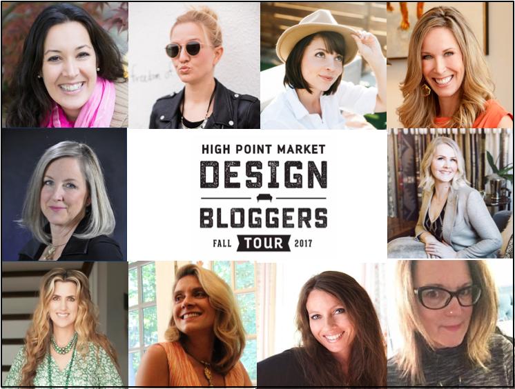 High Point Market Design Bloggers Tour October 2017