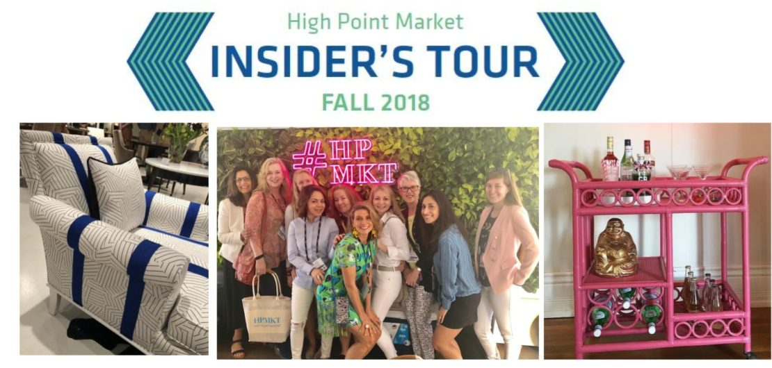 High Point Market Insiders Tour Fall 2018