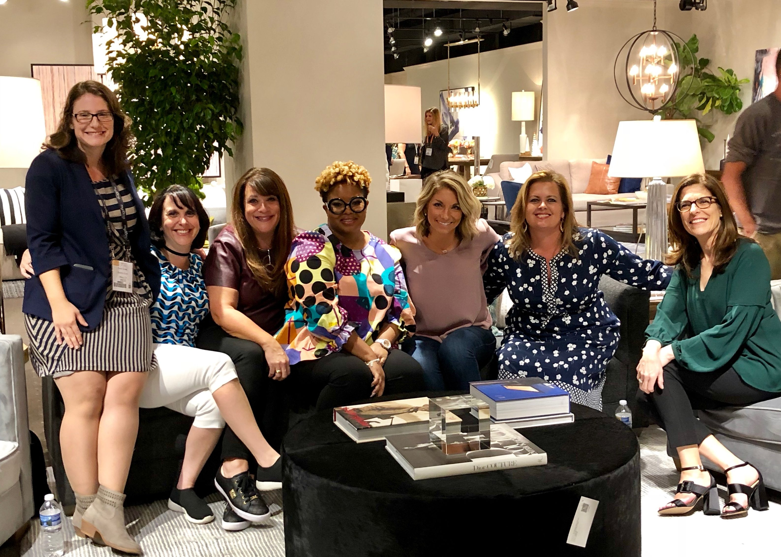 From Organized to Overwhelmed moderated by LuAnn Nigara with Jessica Duce, Claire Jefford, Wendy Woloshchuk, Jessica Salomone, Lauren Ashley at Alder & Tweed