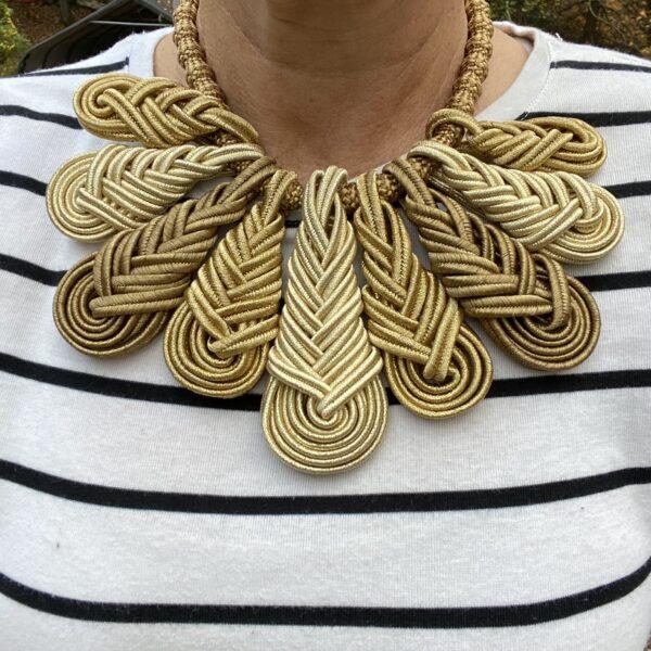 RBG Jabot Necklace
