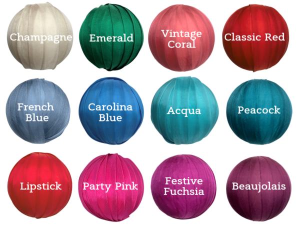 ornament Color Card