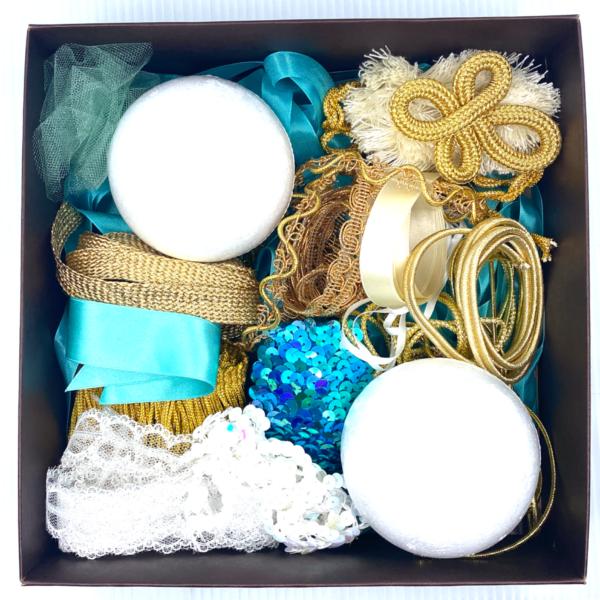 Trim Queen Acqua Ornament Kit