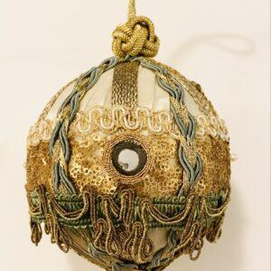 handmade Trim Queen ornament