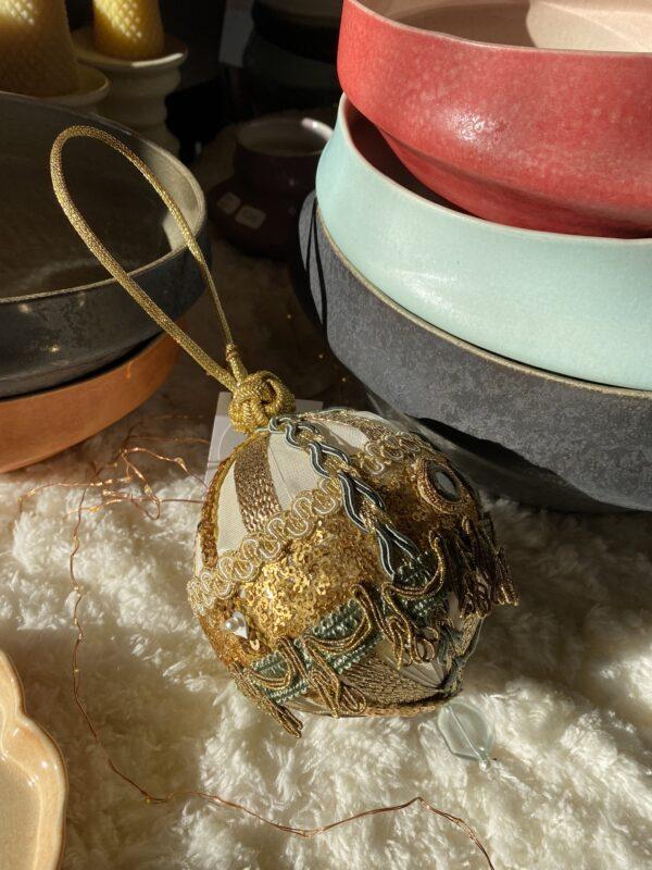 Trim Queen Handmade Ornament