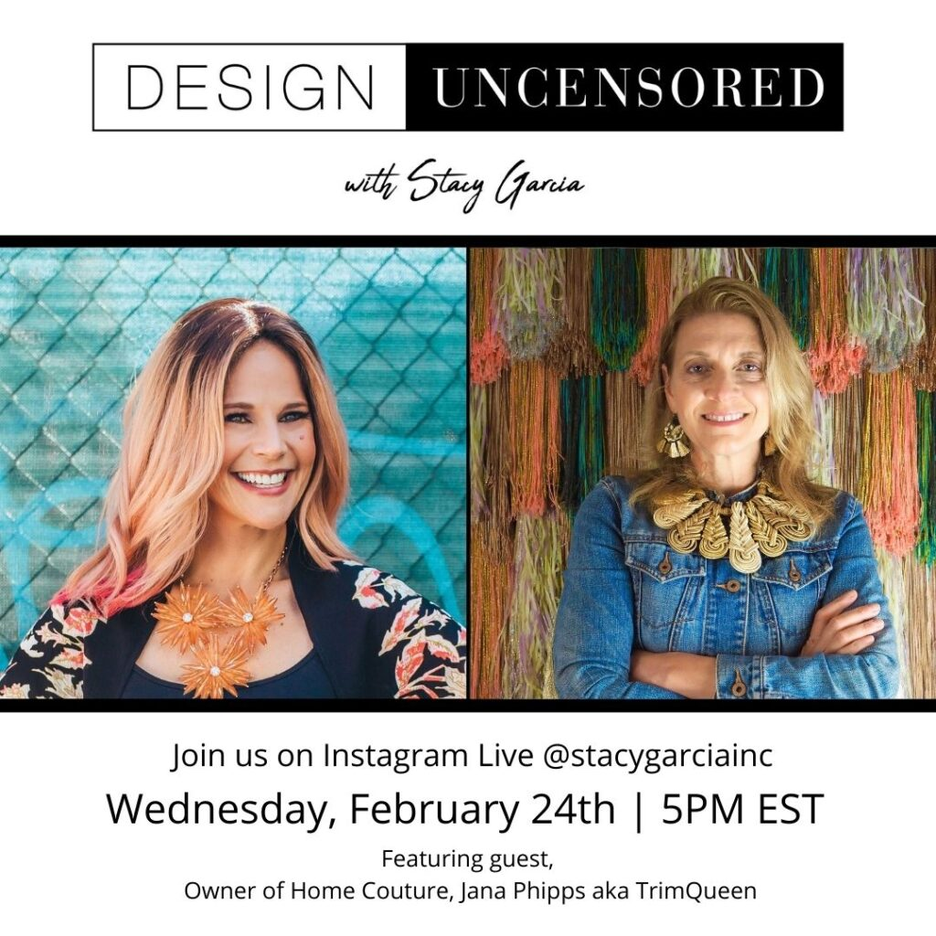 Design uncensored with Stacy Garcia
