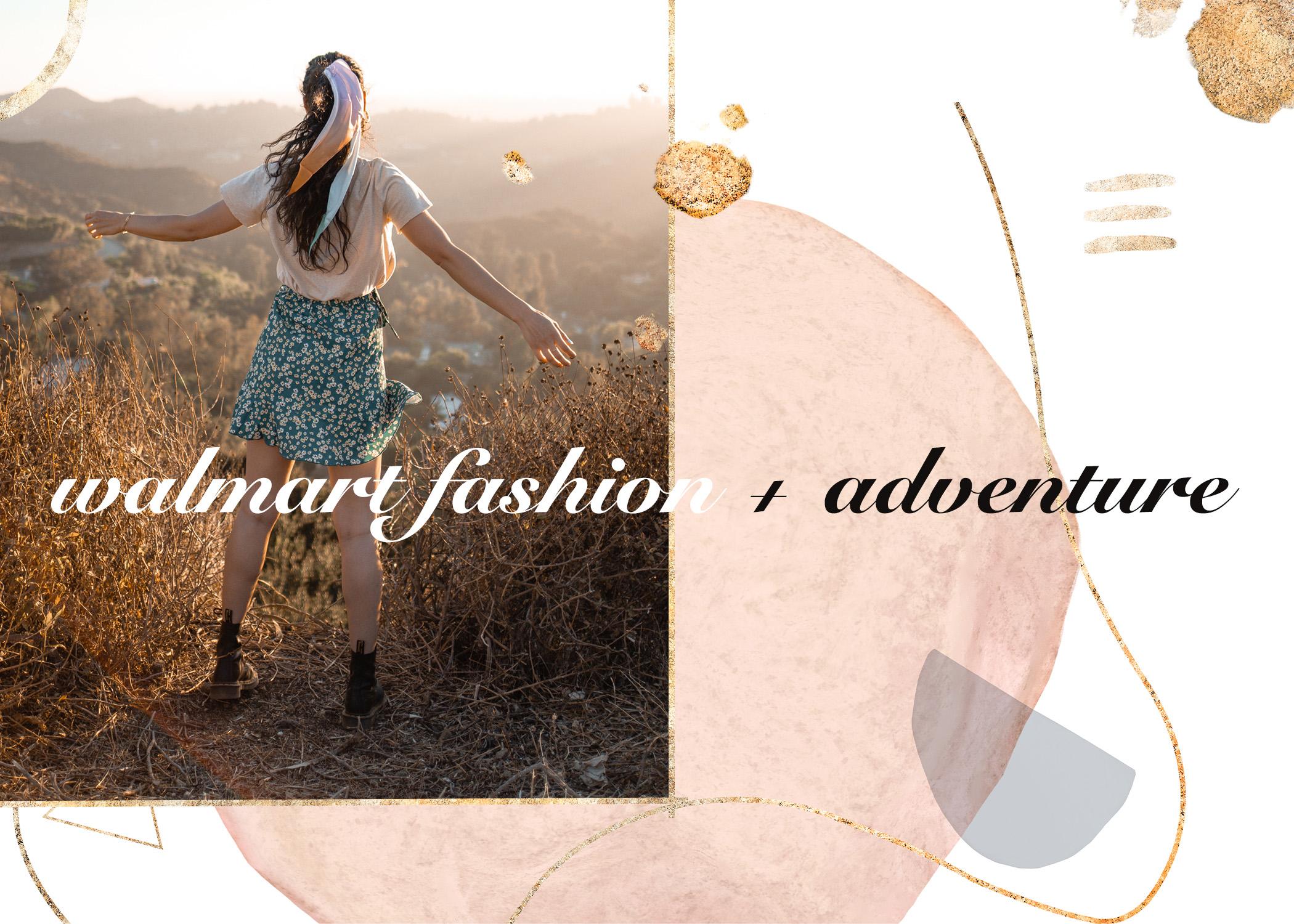 walmart fashion // adventure
