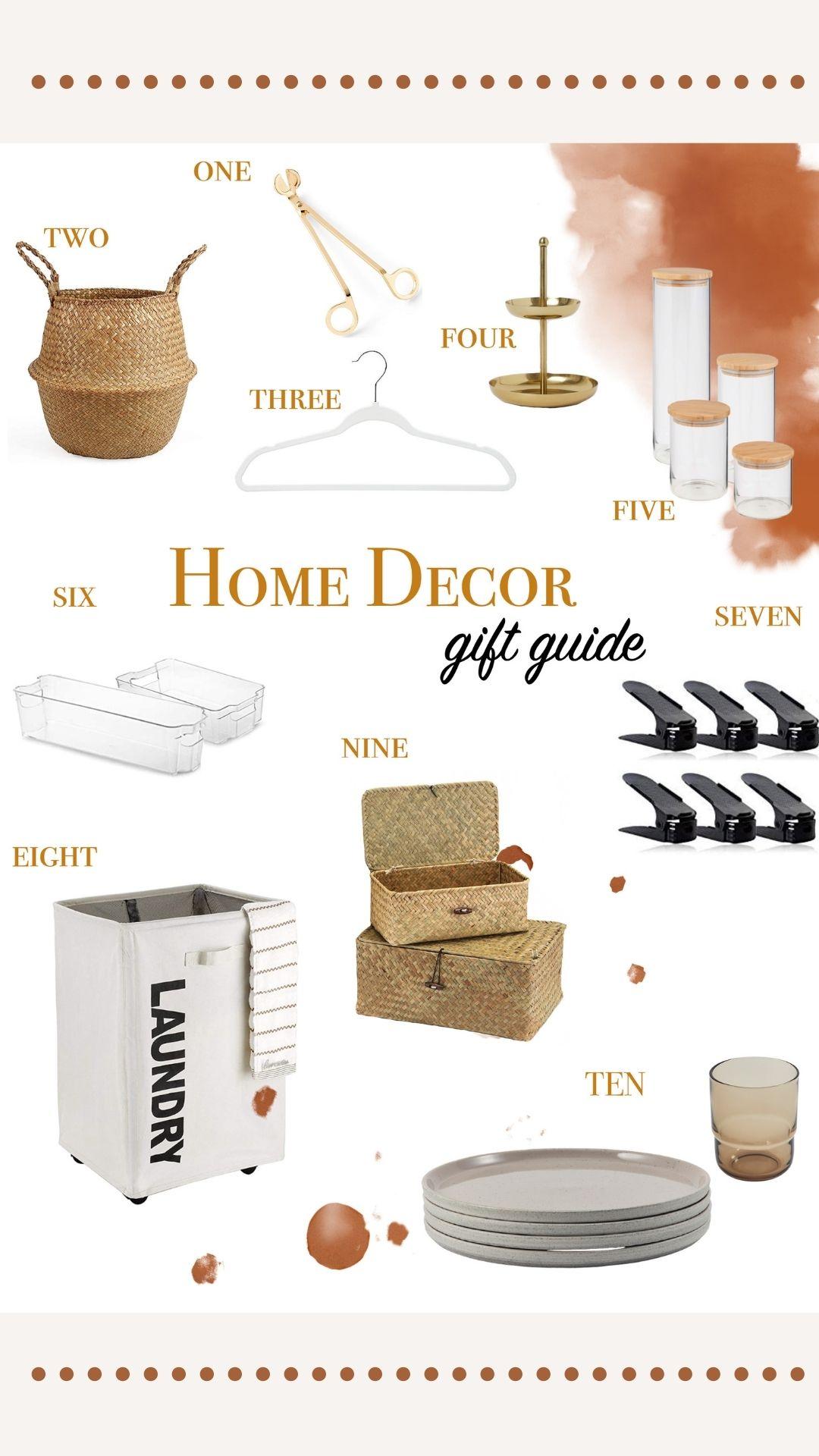 Gift Guide- Home Decor