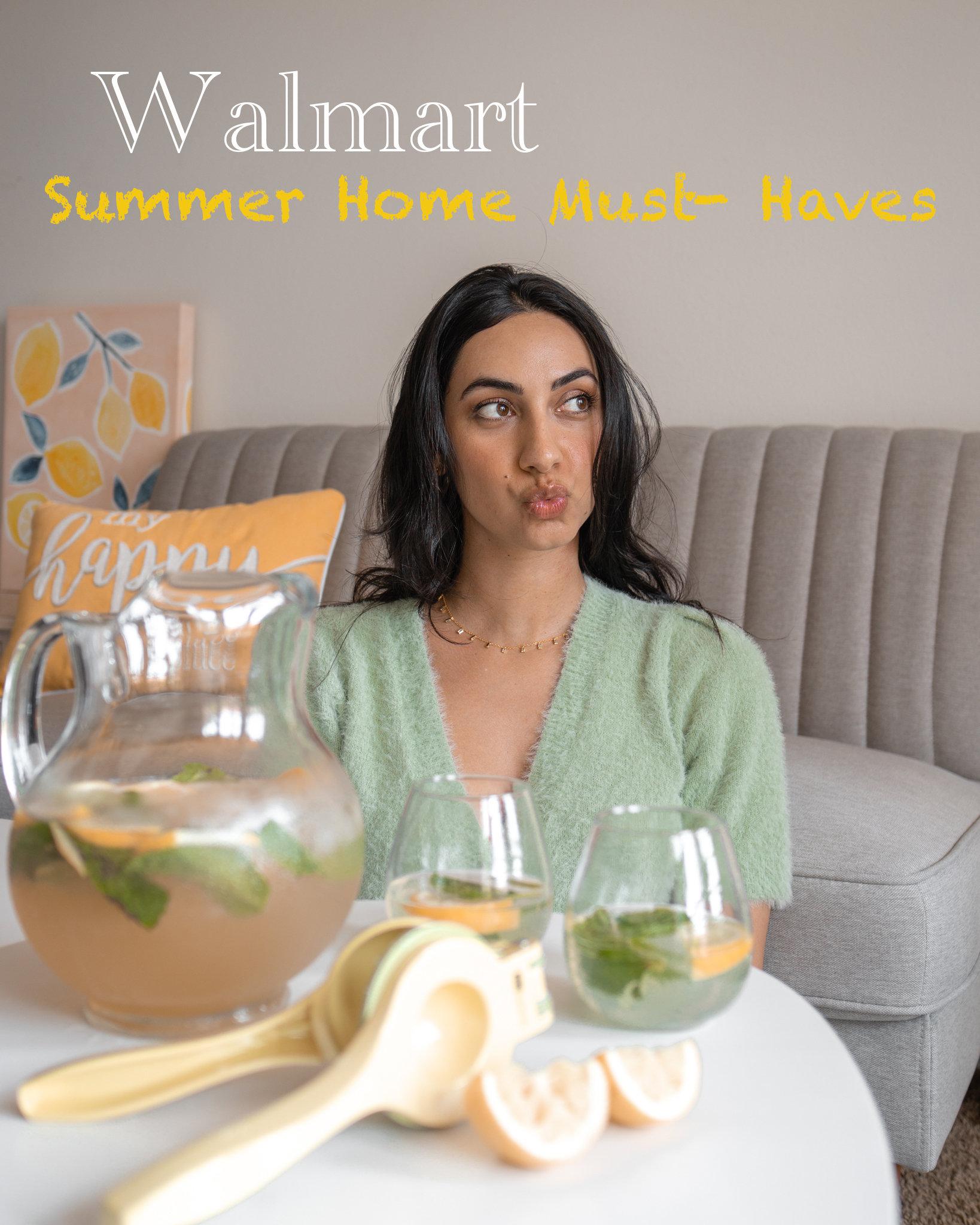 Walmart – Summer Home Decor