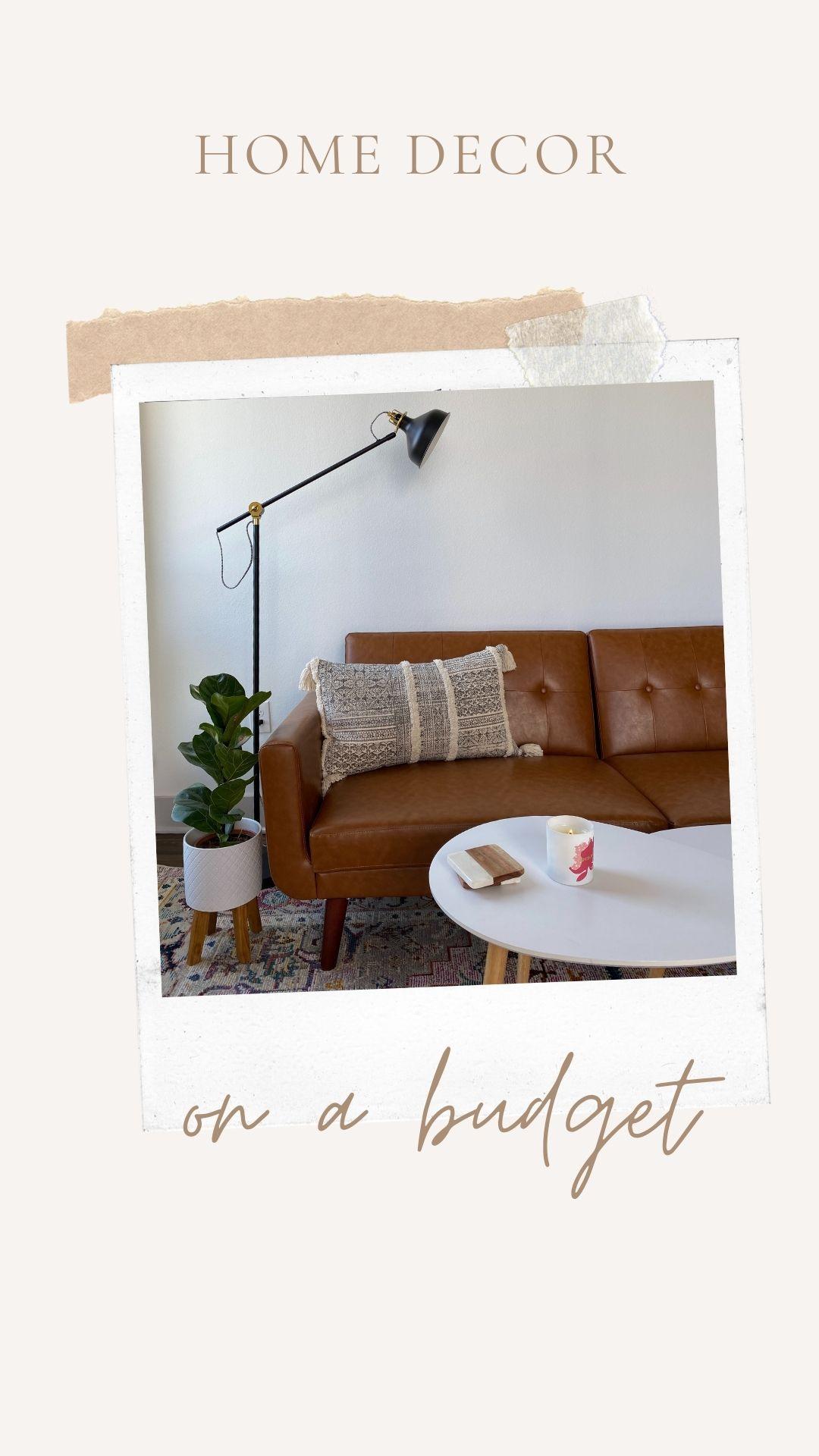 home decor on a budget!