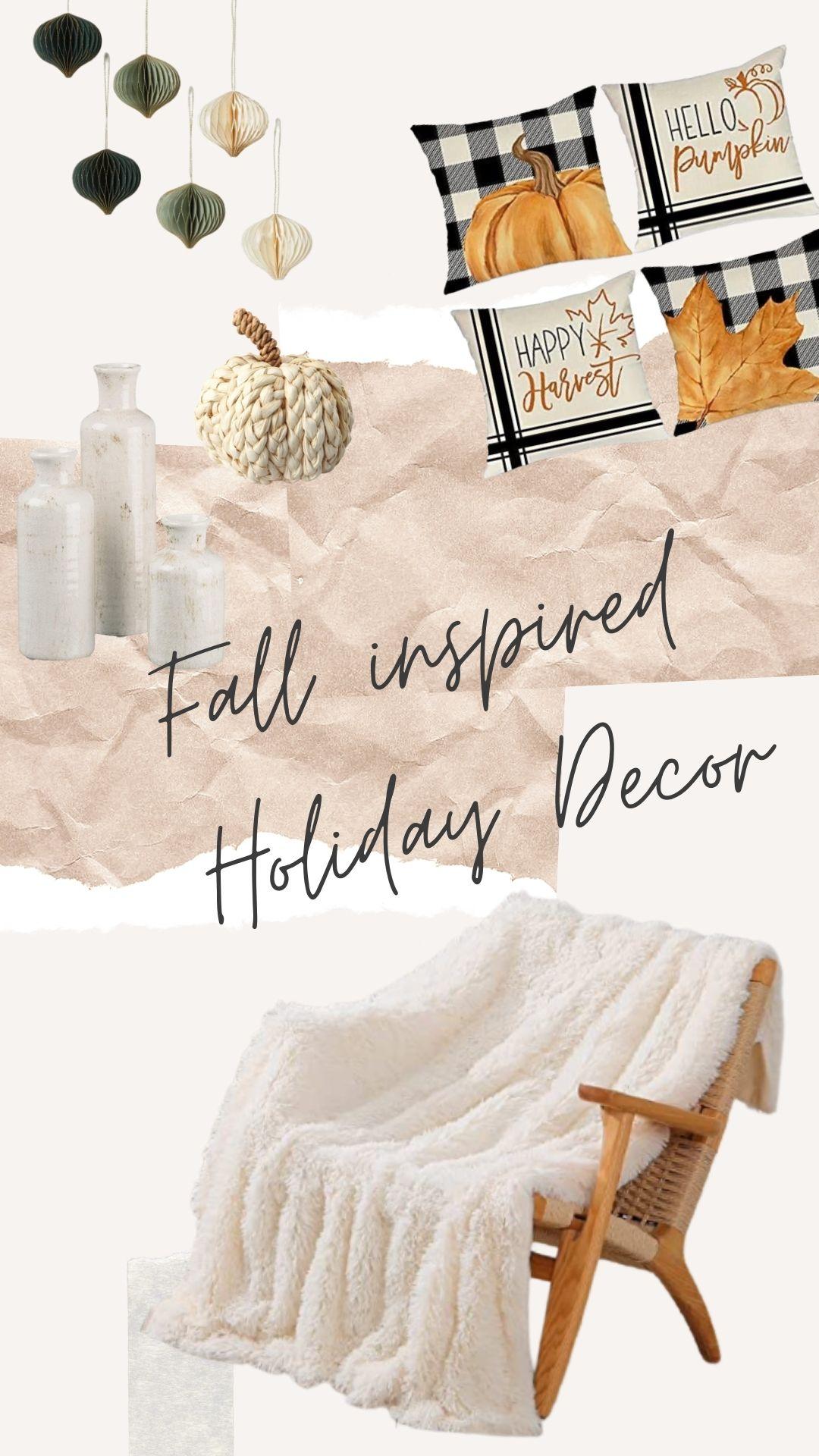 Fall Holiday Decor 🍂