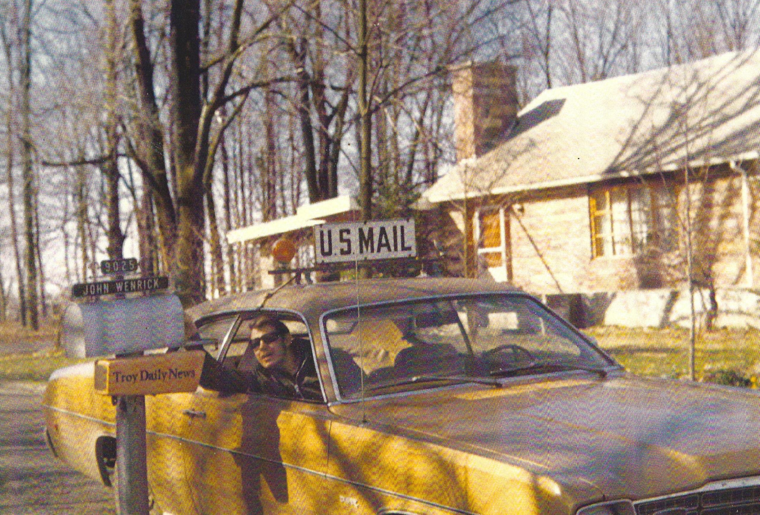 Tom Delivering mail