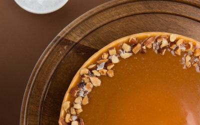 Salted Caramel Flan Cheesecake