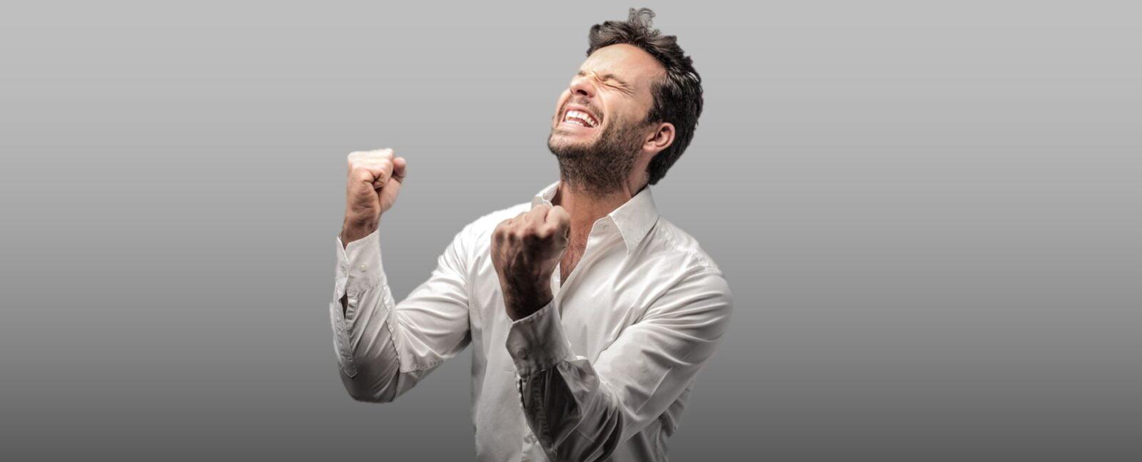 Happy Man Cash Discount Processing