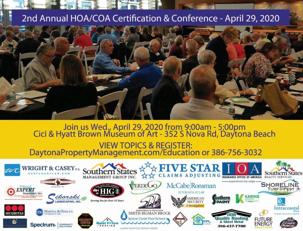 HOA COA Conference