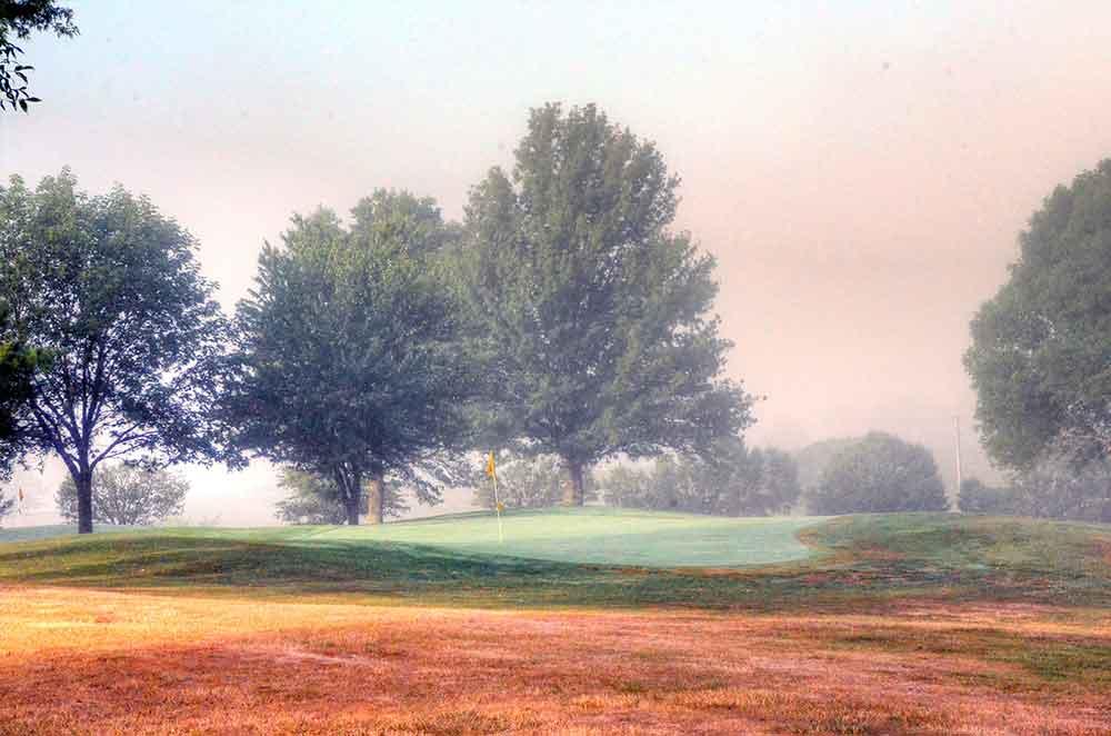Albany-Golf-Course,-Albany,-MO-Green
