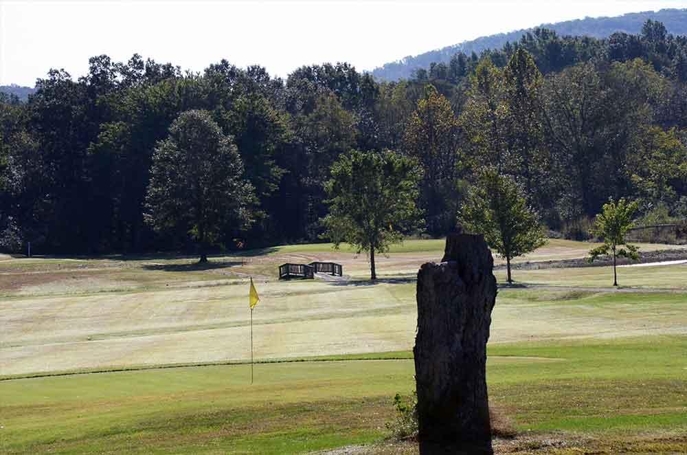 Arcadia-Valley-Country-Club,-Ironton,-MO-stump