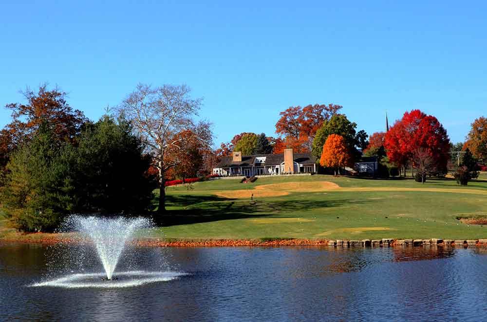 The Bogey Club, St. Louis, Missouri, Fountain