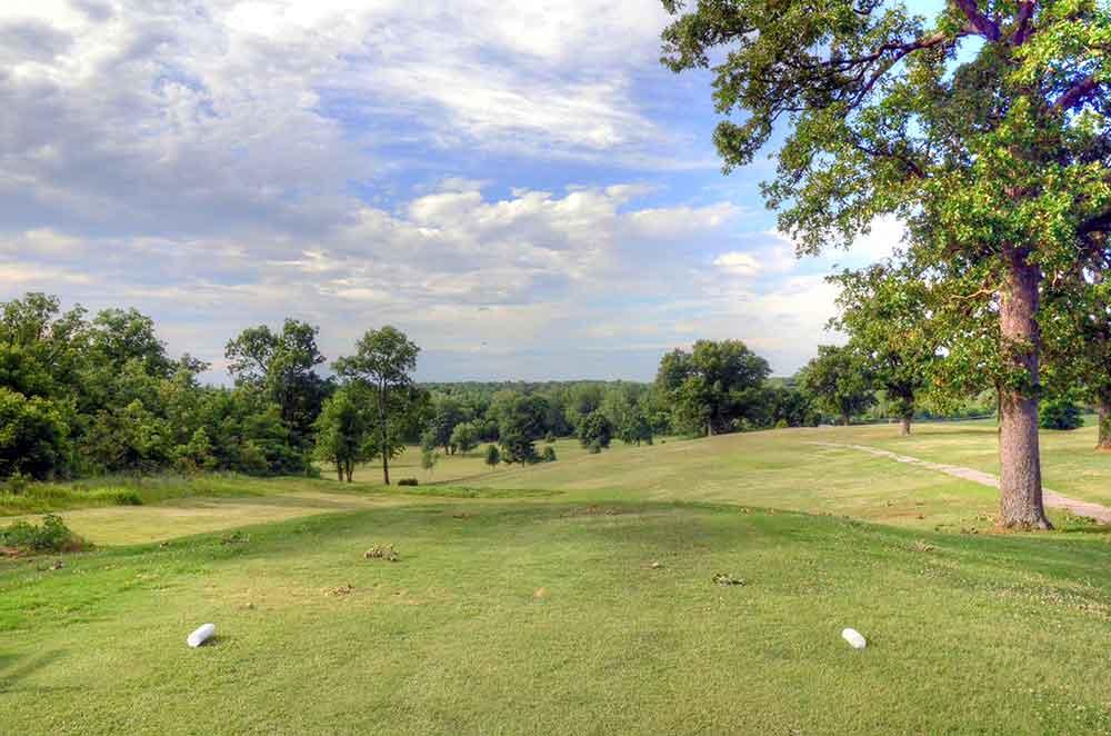 Center-Creek-Golf-Course,-Sarcoxie,-MO-Tee