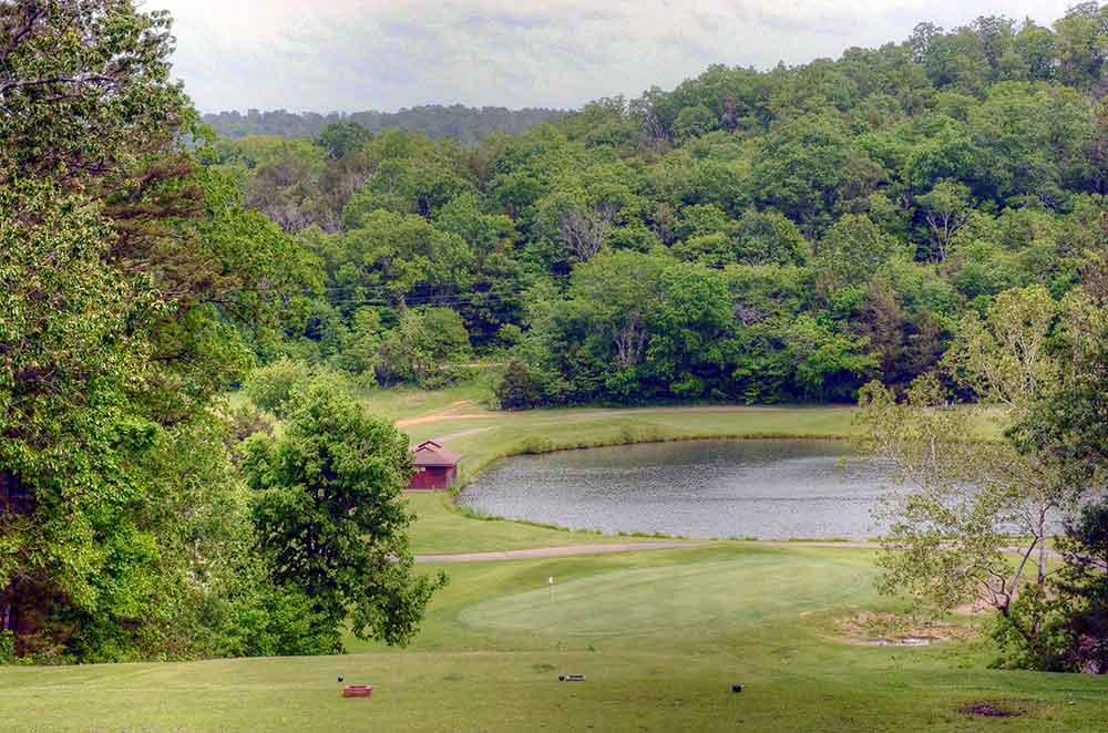 Fourche-Valley-Golf-Course,--Potosi,-MO_Lake