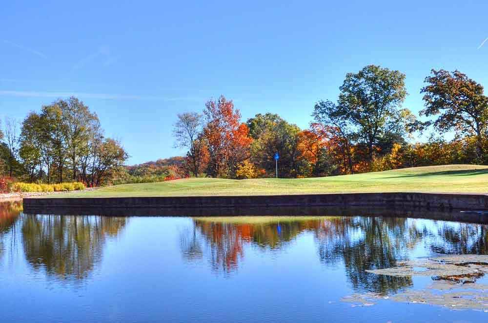 Franklin-County-Country-Club,-Washington,--MO,-Reflection