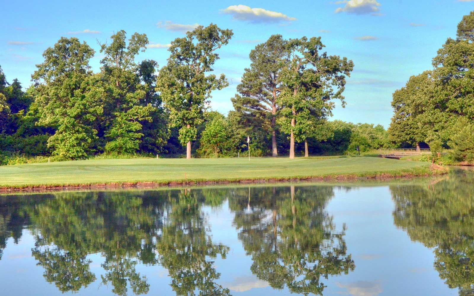 Neosho-Municipal-Golf-Course,-Neosho,-MO---Reflection