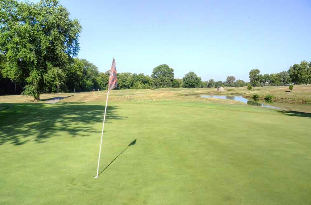 Royal-Meadows-Golf-Club,-Kansas-City,-MO-Club-Flag