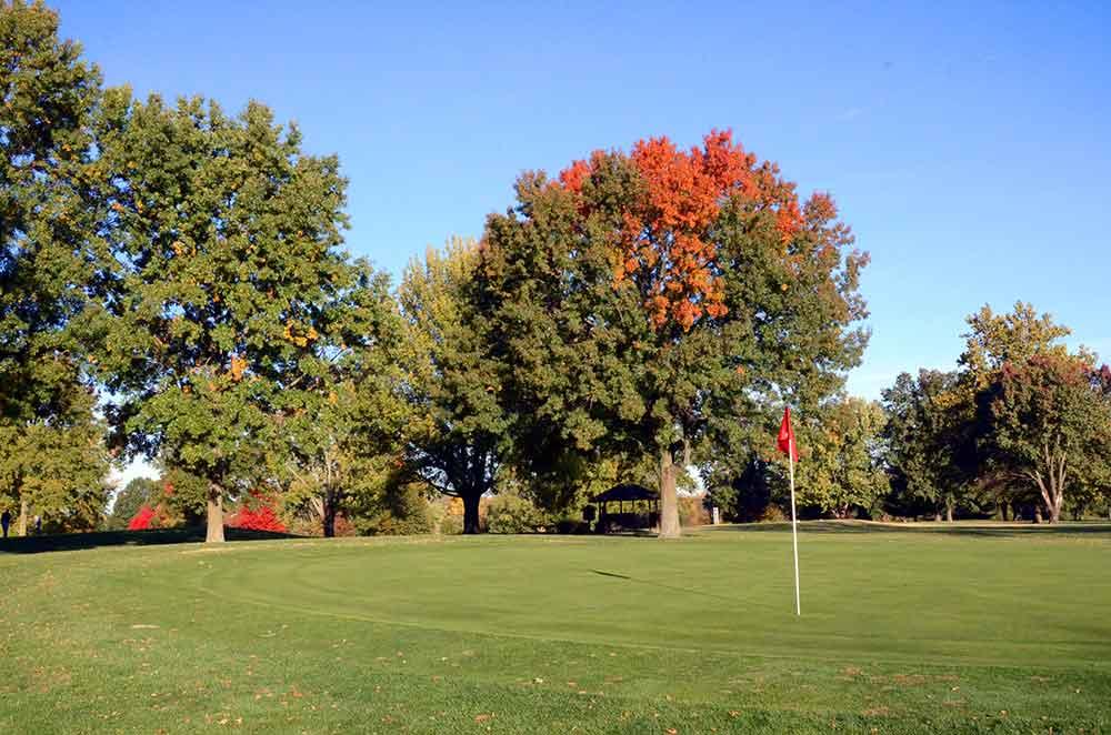 Shamrock-Hills-Golf-Club,-Kansas-City,-MO-Green