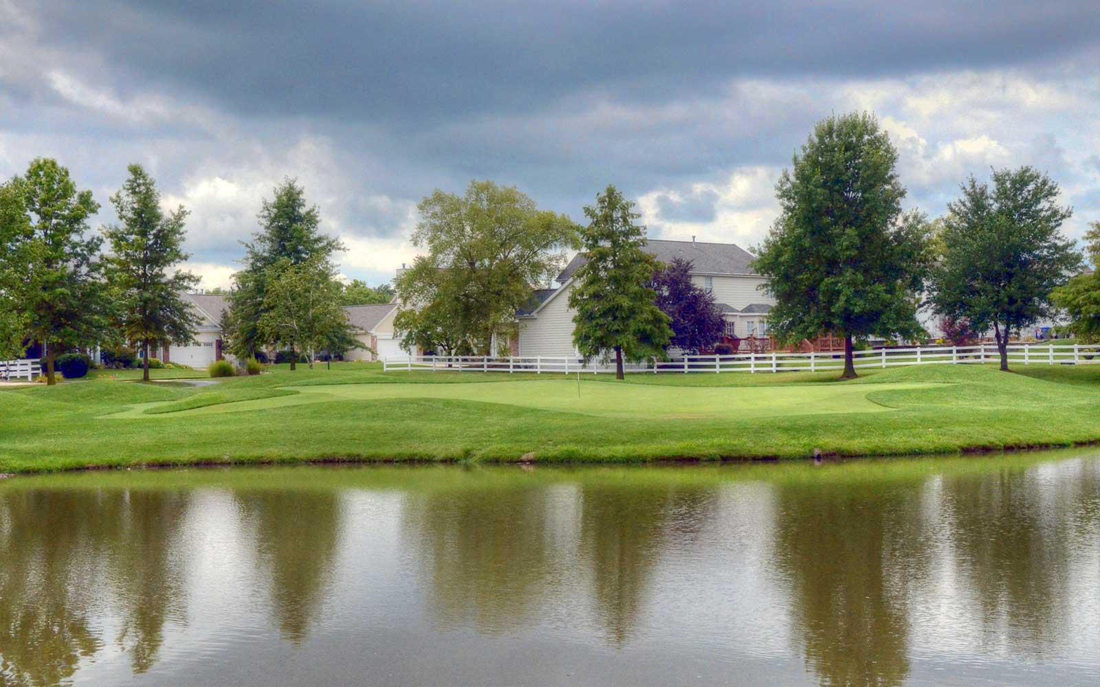 The-Falls-Golf-Club,-O'Fallon,-MO-Reflection