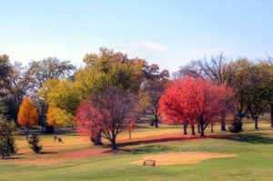 Highlands Golf and Tennis Center, fall colors