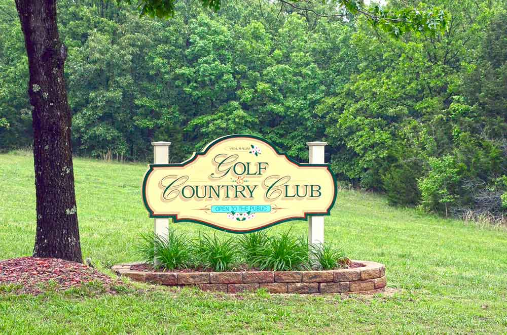Viburnum-Golf-and-Country-Club,-Viburnum,-MO-Sign