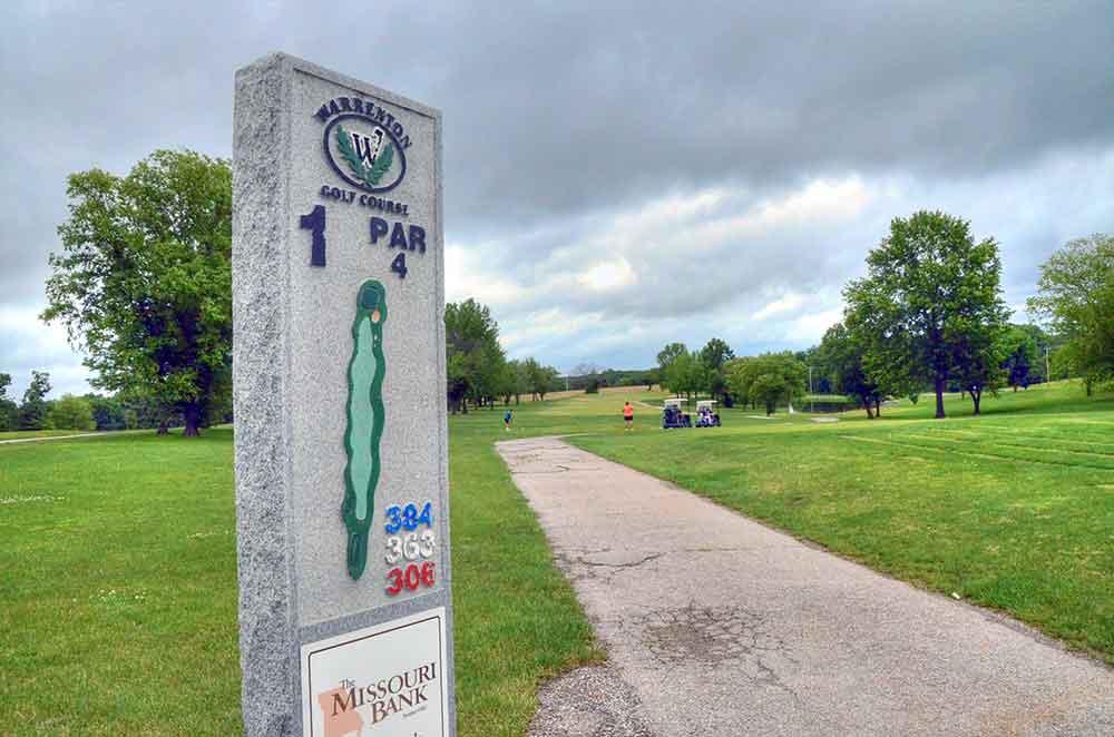 Warrenton-Golf-Course,-Warrenton,-MO--Hole-1