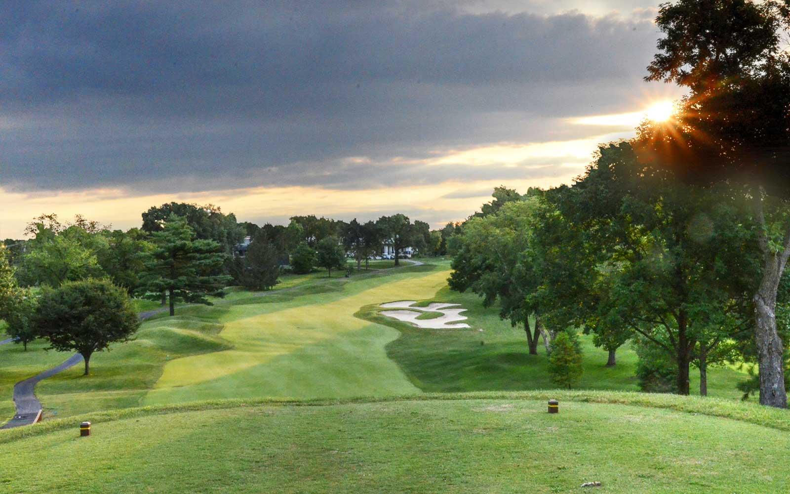Westborough-Country-Club,-St-Louis,-MO-Sunrise