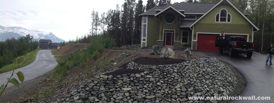 Natural Rock Landscaping