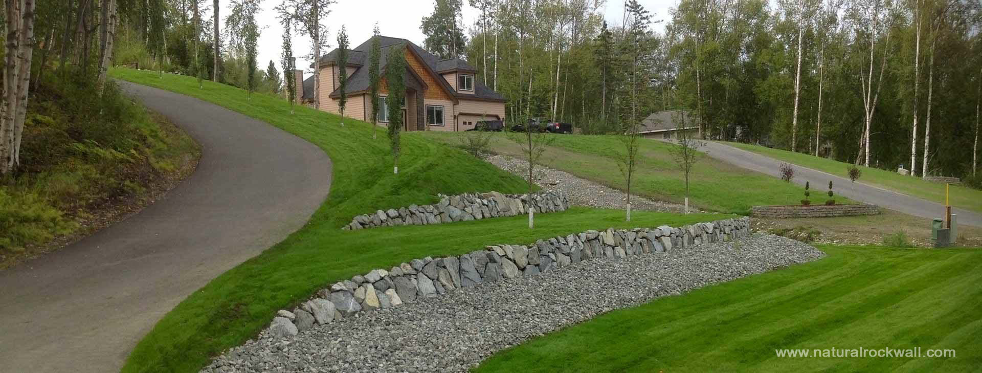 Retaining Walls Using Natural Materials