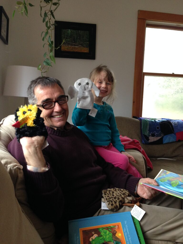 Fun with Keeno and Ernest Puppets