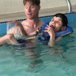 George's 1st Swim1