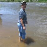 Norrid Taking a Dip