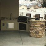 Bakersfield outdoor bbq and kitchen - maranatha landscape