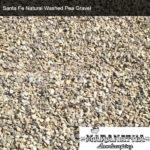 Santa Fe Natural Washed Pea Gravel - Maranatha Landscape Bakersfield