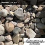 Santa Maria Float Rock 1 inch - Maranatha Landscape Bakersfield