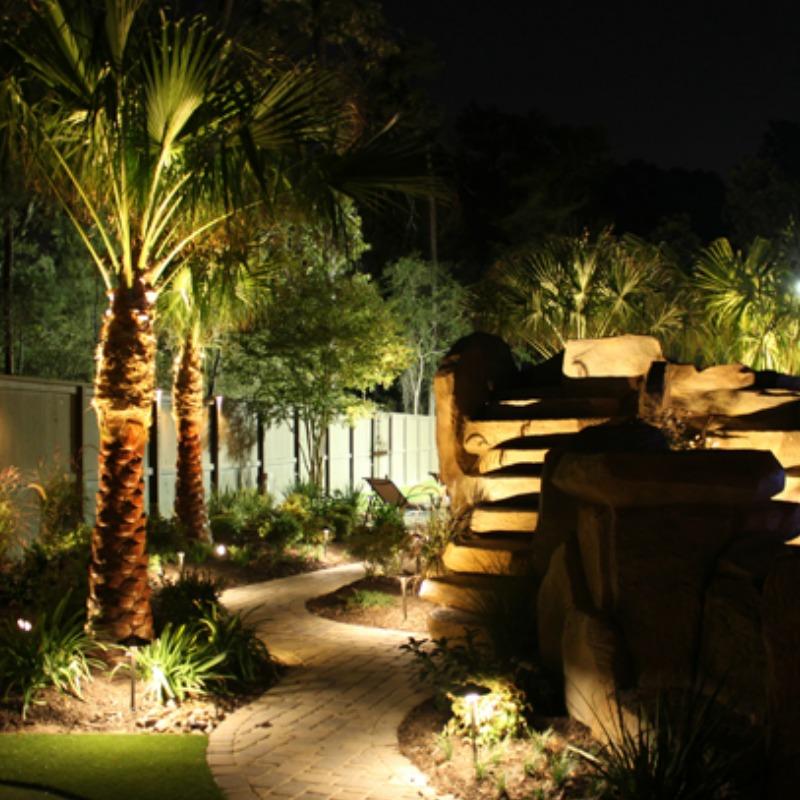 outdoor lighting from Maranatha Landscape Bakersfield