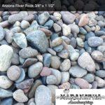 "Arizona River Rock 3/4"" x 1 1/2"" - Maranatha Landscape Bakersfield"