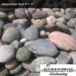 "Arizona River Rock 6""x 10""- Maranatha Landscape Bakersfield"