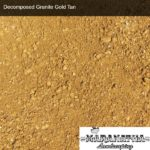Decomposed Granite Gold Tan - Maranatha Landscape Bakersfield