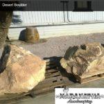 Desert Boulder - Maranatha Landscape Bakersfield